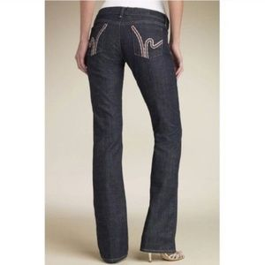 Citizens of Humanity Crochet 'H' Bootcut Jeans
